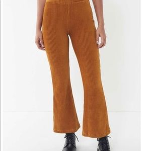 Urban Outfitters Ribbed Velvet Pants